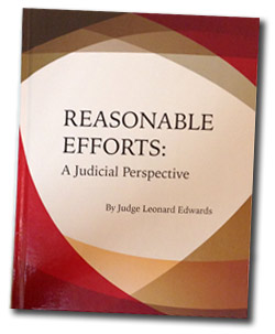 book cover for Reasonable Efforts: A Judicial Perspective